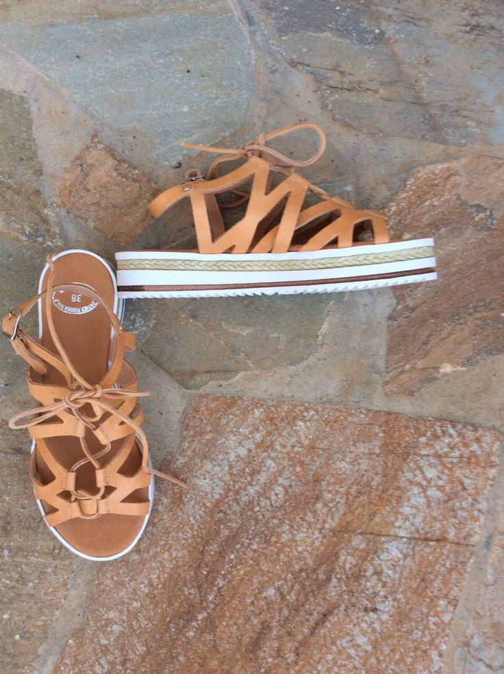 Espadrilles wedge Greek sandals!!!!