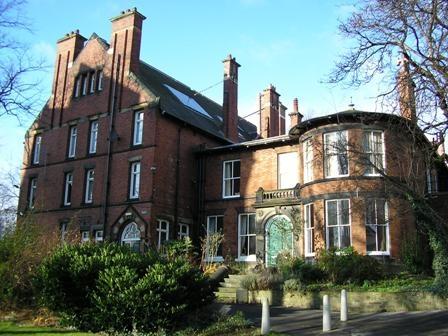 Lyddon Hall, Leeds University.  Accommodation for the Summer School