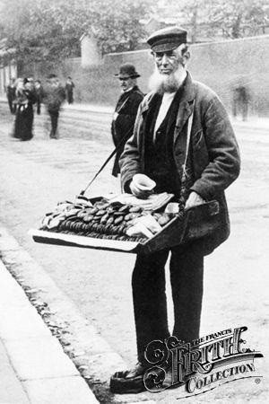 intimesgonebyblog:  A Ginger Cake Seller, Greenwich, London.1884.