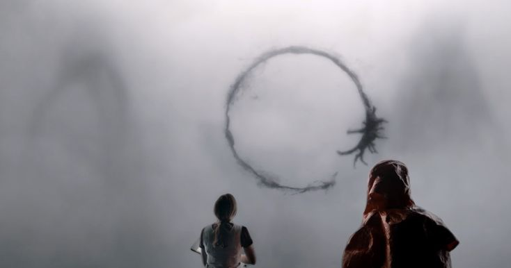 Arrival, a science-fiction film about a linguist trying to communicate with aliens #1nt #xl8