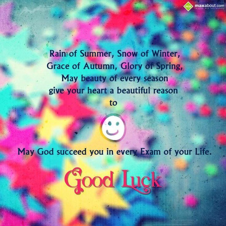 wish u all de best n good luck in ur exam photo: Maxabout: Good Luck SMS rain-of-summer-good-luck_zpsbcbf2648.jpg
