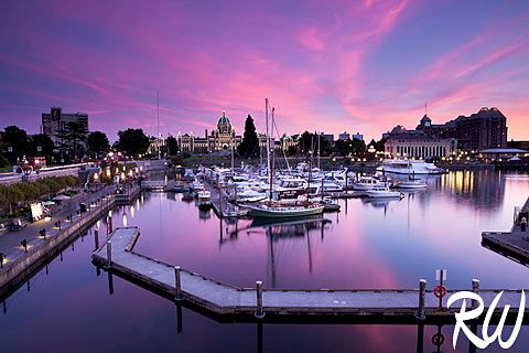 Inner Harbour, Victoria, British Columbia / www.rwongphoto.com