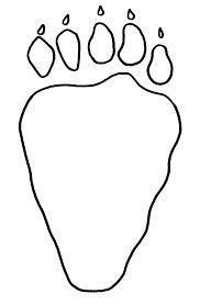 afbeeldingsresultaat voor pootafdruk gruffalo berenjacht