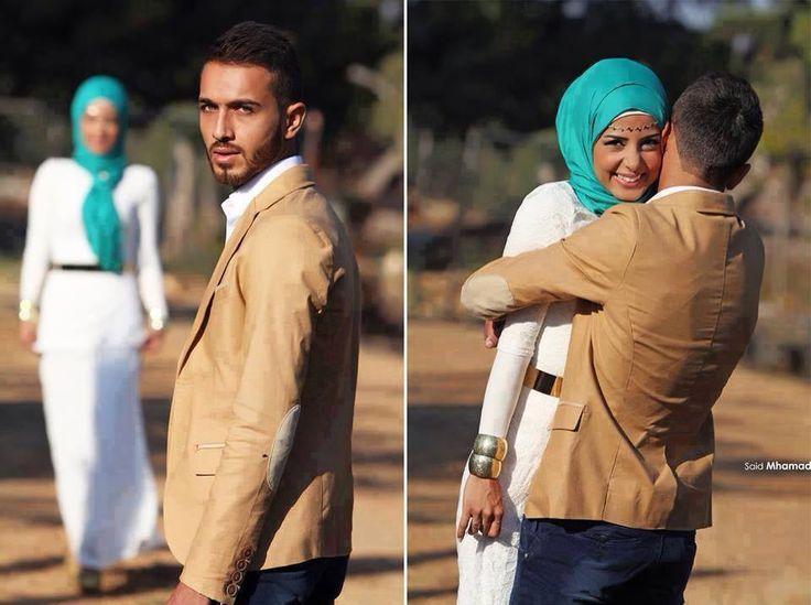 good looking muslim couple