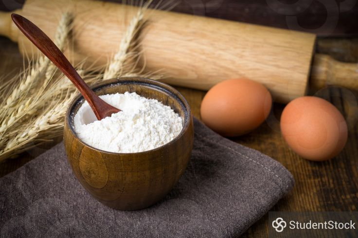 """StudentStock - """"Flour and eggs, cooking ingredients rustic still life"""" by Vladislav Nosick"""