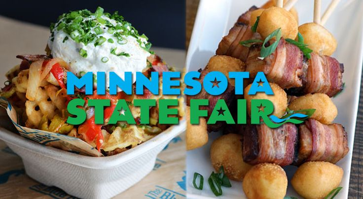 "The Minnesota State Fair is already right around the corner and this week we've got the rundown of all the new State Fair food stuffs available for the 2017 festivities and the keyword this year is definitely ""bacon"". #Drink #Events #Fair #food #MN State Fair #New Foods"