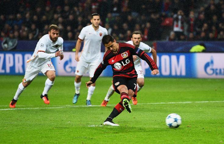 Champeons League 2015/16: Bayer leverkusen - AS Rom 4:4 -Spektakulär-Keine vier Minuten waren in der BayArena gespielt, als Vasilis Torosidis eine...
