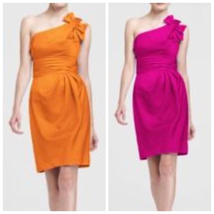 My wedding colors Tangerine & Begonia.