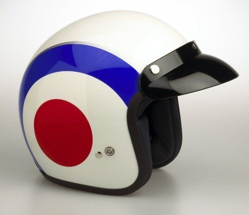 Viper Rs-04 Target Mod Open Face Scooter Motorcycle Helmet, Small by VIPER