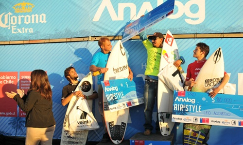 "Picture from the Analog Pichilemu ""Surf and style"" Punta de lobos abril 2012. (me: part of the organization)"