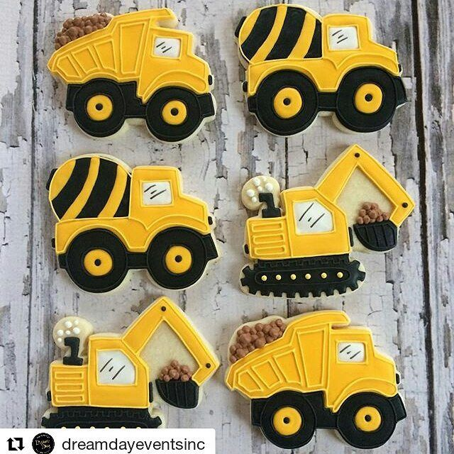 Loving these cookies with our truck cutters! #sbmcprints #Repost @dreamdayeventsinc with @repostapp ・・・ Love these construction truck sugar cookie party favors!! What a sweet treat!! #homemade #cookies #customcookies #birthday #party #cookiefun #cookieart #edibleart #sugarcookies #sugarart #decoratedcookies #vanilla #dessert #desserttable #favor #nom #noms #nomnom #nomnomnom #planneraddict #foodie  #howsweetisthat  #dreamdaypartyevents #dumptrump #digger #construction #yellow #dirt