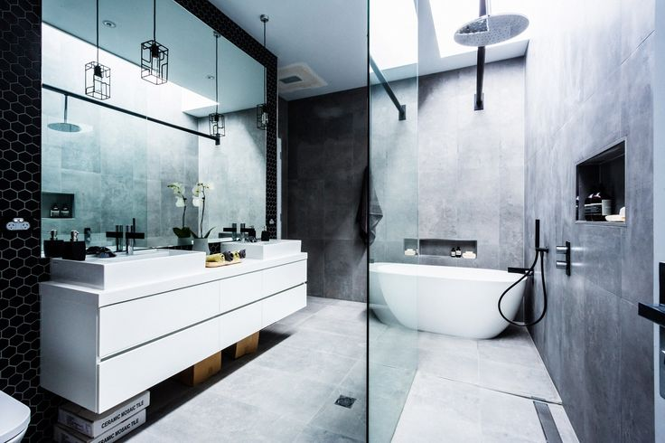 Stunning bathroom design ideas as seen on The Block Glasshouse featuring Beaumont Tiles products. Product information here: http://www.beaumont-tiles.com.au/TheBlock/Bathroom.aspx