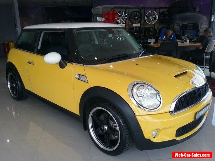 2007 Mini Cooper R56 S Yellow Manual 6sp M Hatchback #mini #cooper #forsale #australia