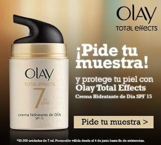 Próxima a tí regala muestras gratuitas de la BB Cream Total Effects de Olay.  Promoción válida para España hasta agotar existencias (30.000 unidades).  http://www.baratuni.es/2013/06/muestras-gratis-crema-olay-total-effects.html  #muestras   #muestrasgratuitas    #muestrasgratis    #baratuni    #olay    #bbcream