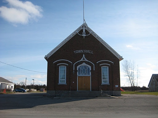 """Demorestville """"Town"""" Hall.  Many dances had there when I was younger."""
