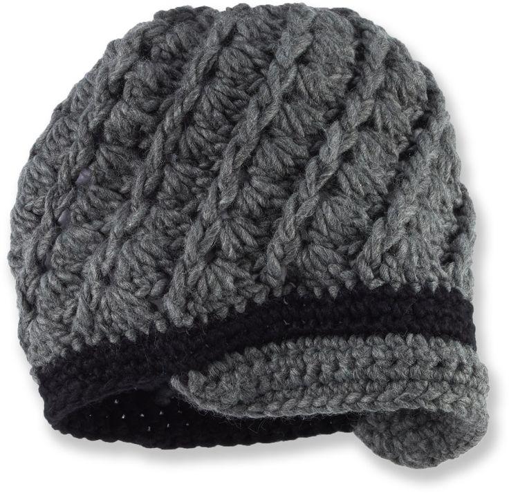 Free Pattern Crochet Women S Swirly Brimmed Hat Safe