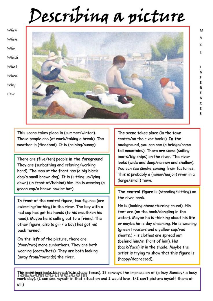 descriptive writing worksheets This is a 3-page explanation that helps the students understand the elements of descriptive writing it also includes sample compositions i compiled it from various.