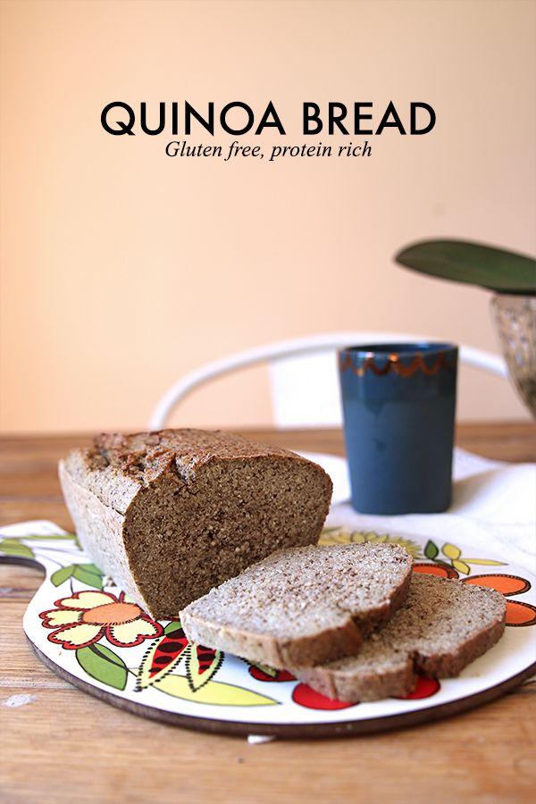Quinoa Bread - Gluten Free, Protein Rich.  - The Whole Daily