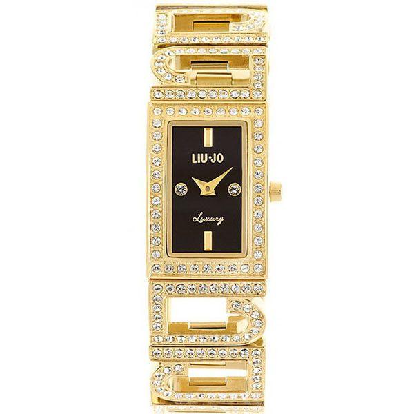 Liu Jo Luxury Chris Nero Gold Orologio Donna TLJ 335