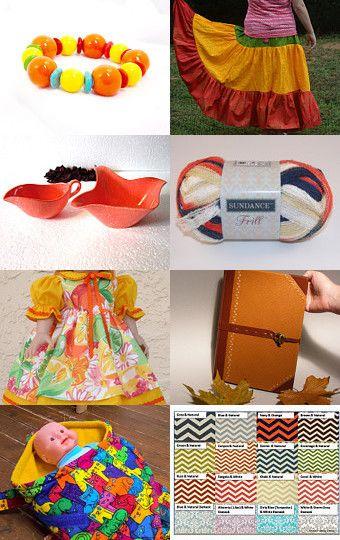 Orange You Happy by Jo-Ann Freburger on Etsy--Pinned with TreasuryPin.com