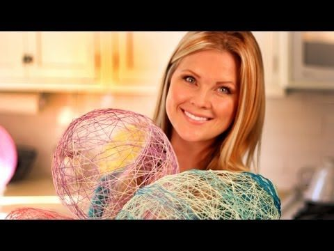 This Woman Wraps Thread Around A Balloon. The Final Results? I'm Totally Trying This