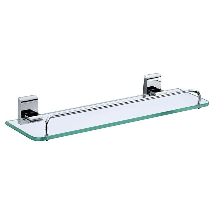 Bathroom Accessories Glass Shelf glass shelves for bathroom. joyoldelf thickened glass aluminum