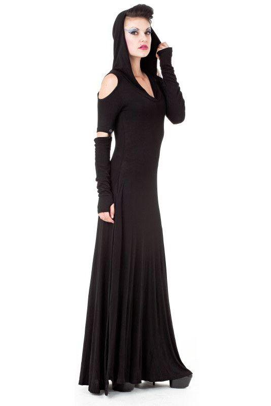 die besten 25 grufti kleid ideen auf pinterest schwarzes gothic kleid gothic mode und. Black Bedroom Furniture Sets. Home Design Ideas