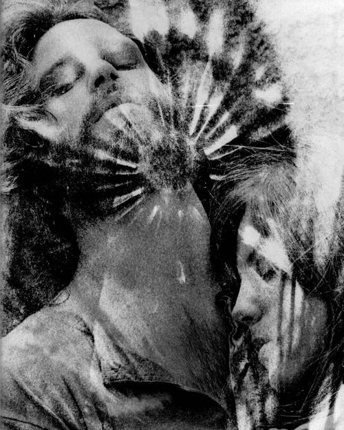 Jim Morrison and  Pam, 1969, by edmund teske http://en.wikipedia.org/wiki/Edmund_Teske