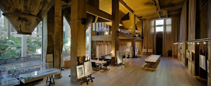Ricardo Bofill's Cement Factory Home — THE OPSIS