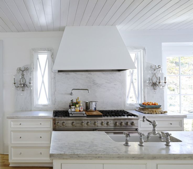 Stove, Stove Hoods And Plank Ceiling