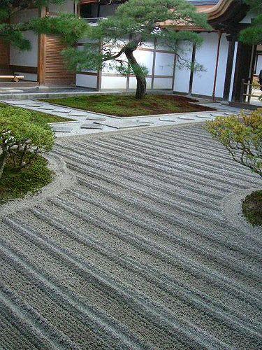 石庭、日本庭園、銀閣寺/GinkakujiTemple