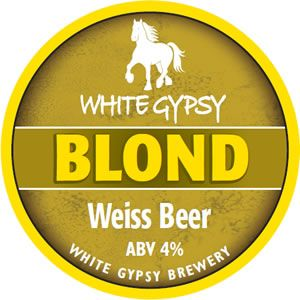 Blond Weiss Beer (4% ABV) - White Gypsy Brewery