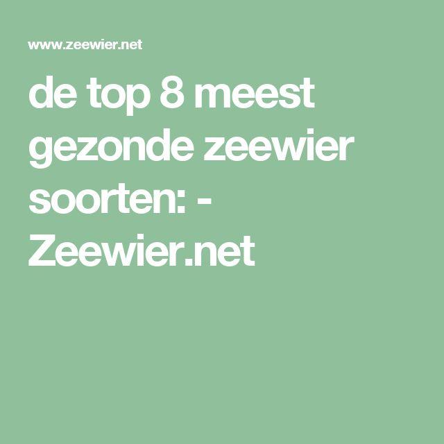 de top 8 meest gezonde zeewier soorten: - Zeewier.net
