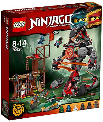 LEGO Ninjago Hands of Time 70626 Dawn of Iron Doom