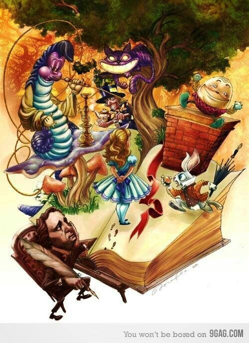 the bases for the characters of lewis carrolls alice in wonderland Alice's adventures in wonderland by lewis carroll synopsis alice's adventures in wonderland is the fantastic story of a young girl, alice, who one day falls down a rabbit hole and begins a.