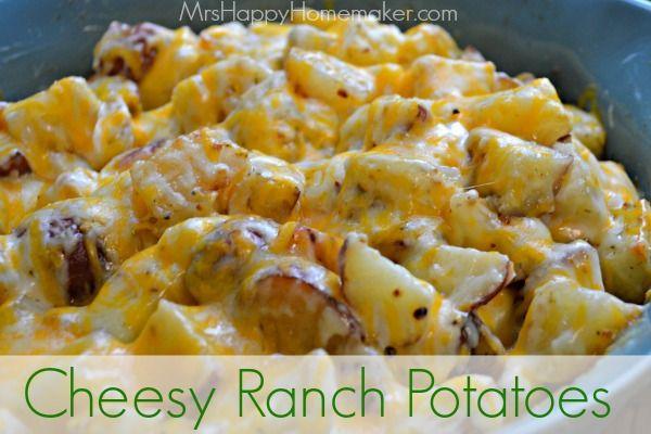 Cheesy Ranch Potatoes  My Favorite Potato Recipe - Mrs Happy Homemaker