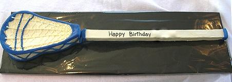 Lacrosse Stick Cake #delicious