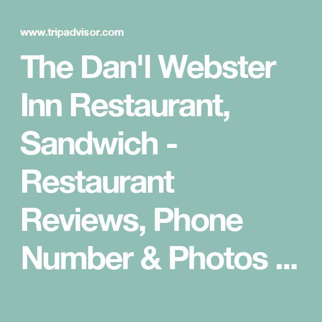 The Dan'l Webster Inn Restaurant, Sandwich - Restaurant Reviews, Phone Number & Photos - TripAdvisor