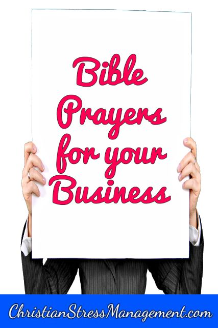 Bible prayers for your business