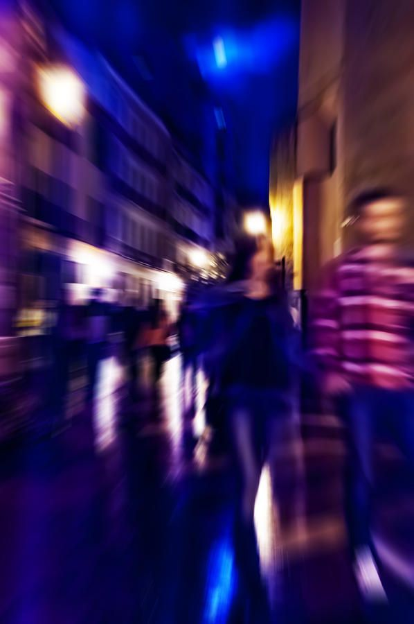 Night Walk by Jenny Rainbow