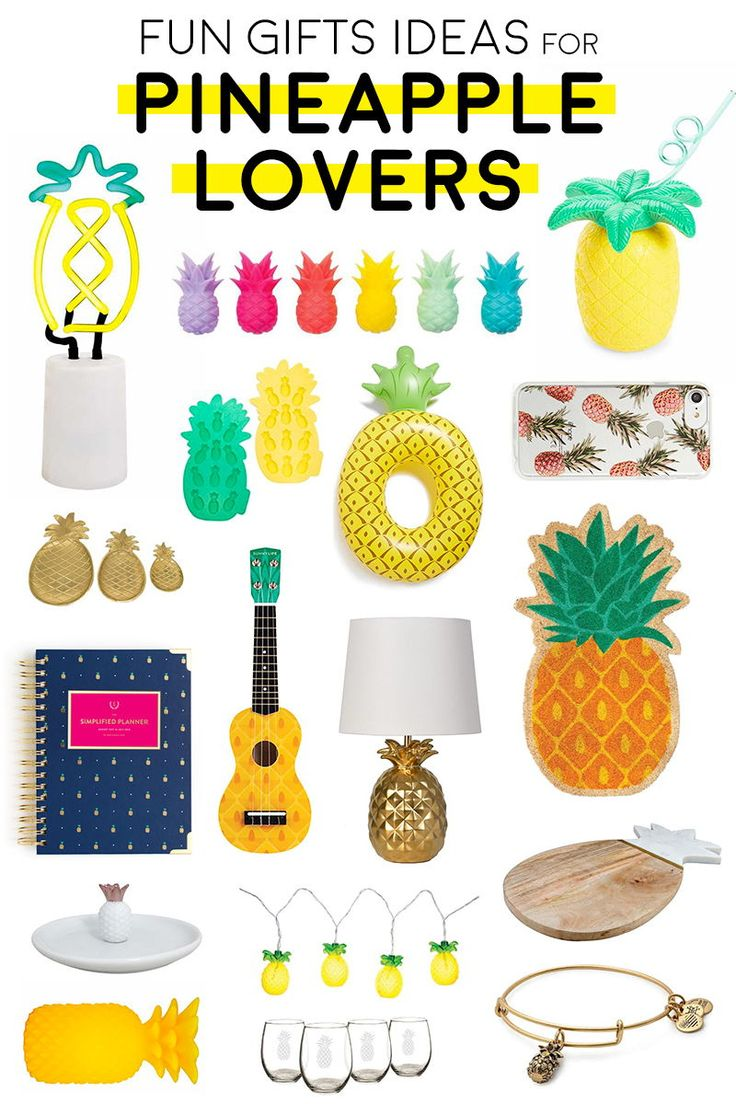 26 Cute Housewarming Gift Ideas for Pineapple Lovers