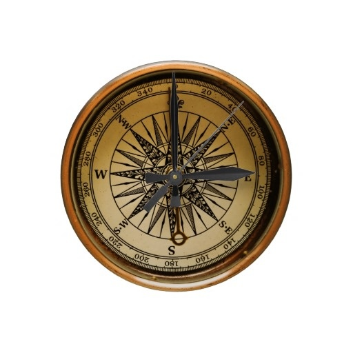 Old Compass Wall Clocks $26.45.  I love this as a great gift for the sailor.  Will have to get this for the captain.
