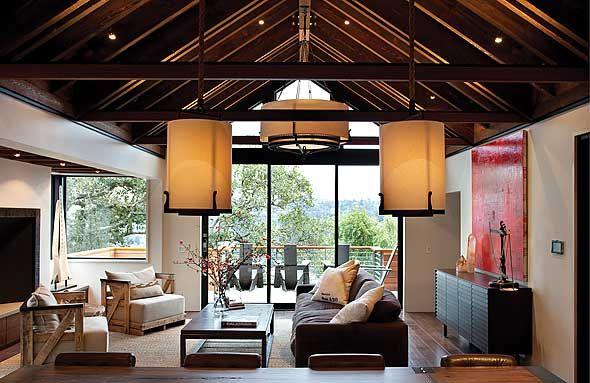 window, beams