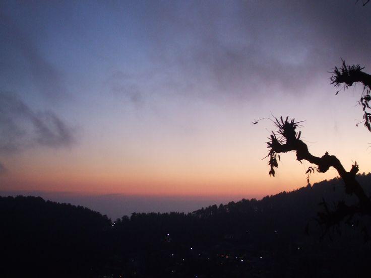 Sunset from Jagatram Niwas, Upper Bhagsu