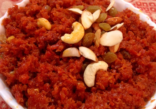 Gajar Ka Halwa (Carrot Pudding) | Healthy eating | Pinterest