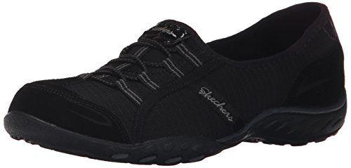 Skechers Sport Women's Breathe Easy Allure Fashion Sneaker, Black, 9 M US - http://all-shoes-online.com/skechers-3/9-b-m-us-skechers-sport-womens-good-life-fashion