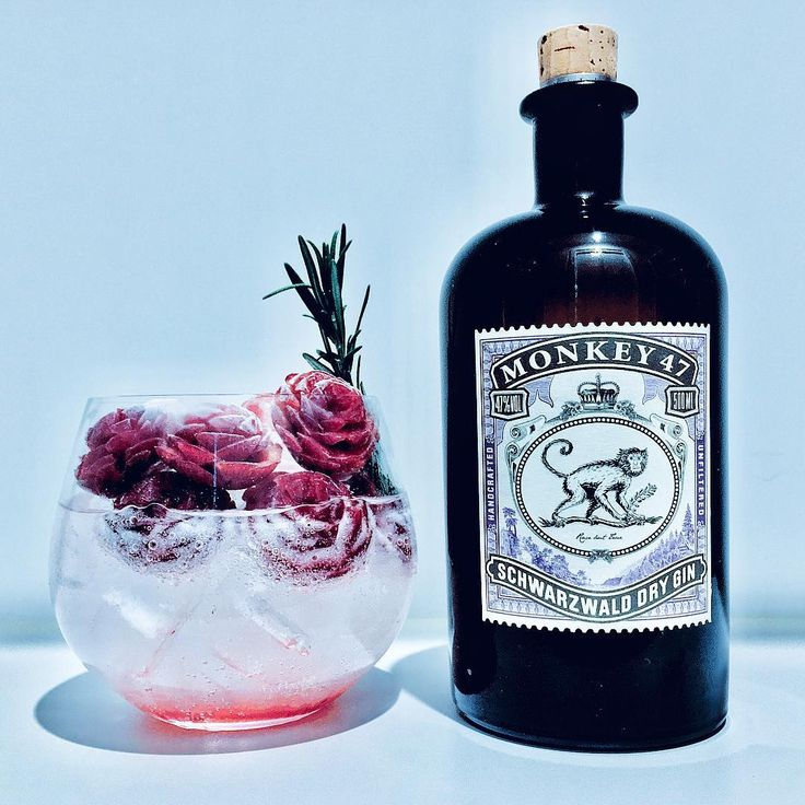 "Gefällt 580 Mal, 4 Kommentare - One Drink A Day (heebs) (@onedrinkaday) auf Instagram: ""@monkey47_dry_gin and tonic with fresh cherry 🍒 juice , rosemary and cherry pine cones ! - Check…"""