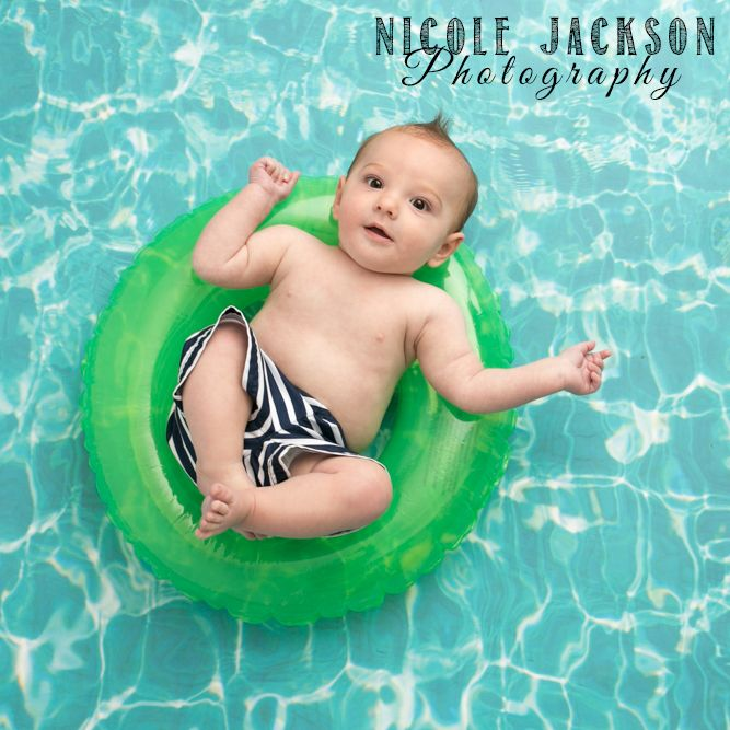 Jeremiah is a handsome little floater at Nicole Jackson Photography
