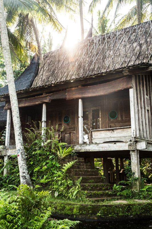 Bambu Indah - a beautiful eco-luxury hotel just outside of Ubud, Bali.