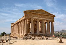 Valley of the Temples. Location - Sicily, Italy. Type of column - Doric.